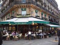 Café Les Deux Magots, ST-Germain, Paris