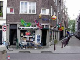 Café em Amsterdã