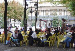 Marais, um bairro animado de Paris