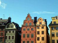 Casas no centro histórico, Estocolmo