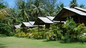 Chalés em Phi Phi, Tailândia