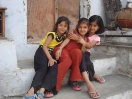 Crianças no Rajastão, Índia
