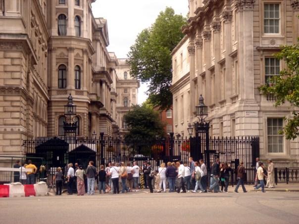 Downing Sreet, Londres, Inglaterra