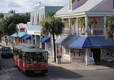 Duval Street Key Largo, Flórida, USA