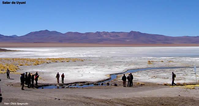 Expedição no Salar de Uyuni