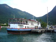 Ferry de Angra dos Reis para Ilha Grande, RJ