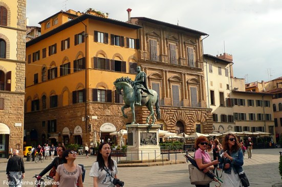 Florença, capital toscana