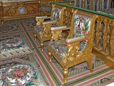 Fontainebleau, chambre de l1 impératrice - Foto Jean-Pierre Dalbéra CC BY