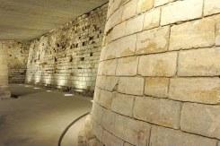Fortaleza do século II no subsolto de Paris - Foto Dennis Jarvis CC BY