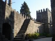 Castelo medieval em Guimarães, Portugal