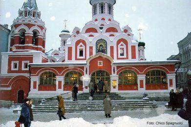 Igreja Ortodoxa, Moscou, na Rússia, foto Chico Spagnuolo