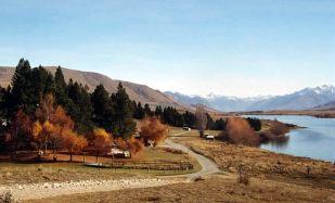Ilha do Sul, cenário do filme Senhor dos Anéis, Nova Zelândia