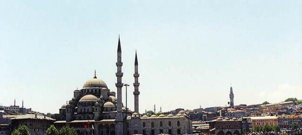 Mesquita em Instambul, naTurquia