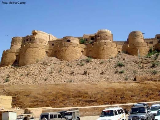 Jaisalmer, no Deserto de Tahar, Rajastão, Índia