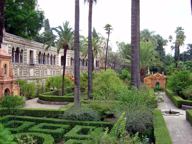 Jardim do Real Alcázar de Sevilha