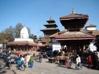 Katmandu, templos hinduístas