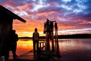 Lapônia, norte da Finlândia