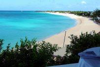Long beach, Saint-Martin, Caribe
