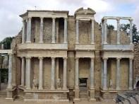 Mérida, teatro romano na Extremadura