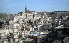 Matera, na Itália