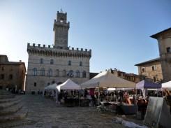 Feira em Montepulciano, Toscana