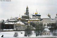 Inverno em Moscou, a capital da Rússia