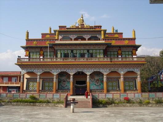 Mosteiro budista, Pokhara, Nepal