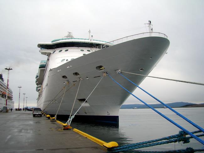 Os grndes navios de cruzeiros marítimos