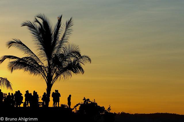 Pôr do sol em Itacaré, Bahia