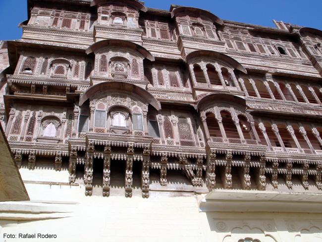 Palácio em Jodhpur, Índia