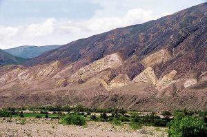 Paleta del Pintor, na Quebrada de Humahuaca, Noroeste da Argentina