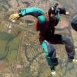 Salto de paraquedas em Boituva, SP