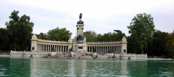 Parque Retiro, Madri