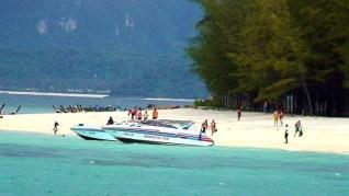 Praia em Phi Phi Island, Tailândia