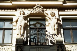 Prédio Art Decó, Riga, Letônia
