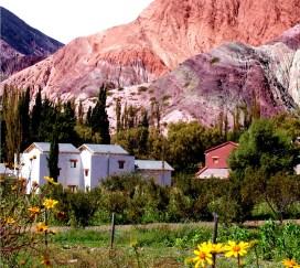 Purmamarca, no Noroeste da Argentina