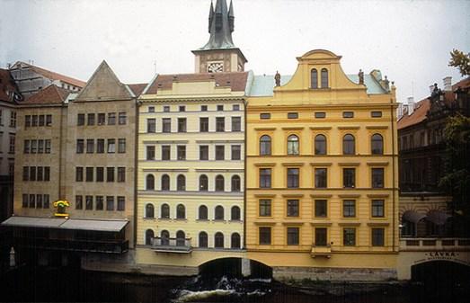 Arquitetura tcheca de Praga