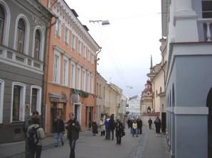 Rua de Vilnius, Lituânia