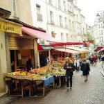 Rue Mouffetard, Quartier Latin, Paris