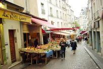 Rue Mouffetard, Quartier Latin, Paris