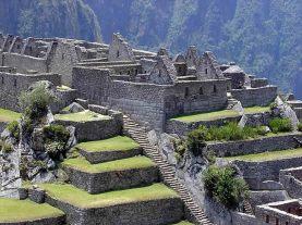 Sítio arqueológico de Machu Picchu, no Peru