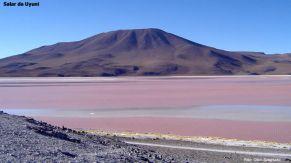 Paisagem do Salar de Uyuni, na Bolívia