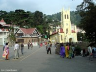 Simla, no norte da Índia