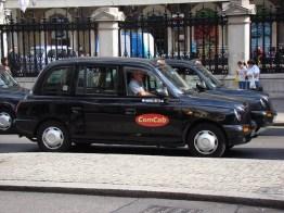 Táxi em Londres, Inglaterra