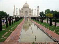 Taj Mahal, em Agra, Índia