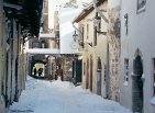 Tallinn sob a neve, Estônia