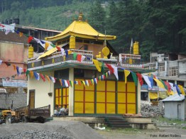Templo tibetano, no Ladak, Índia