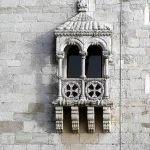 Detalhe de janela, Torre de Belém, Lisboa