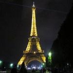 Tour Eiffel à noite