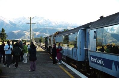Trem Transalpino, South Island